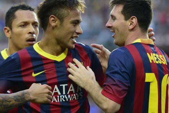 Inmejorable estreno de Neymar en el 'Clásico' de España.