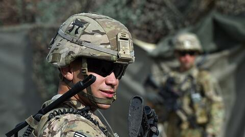 Imagen de archivo de soldados estadounidenses en Afganistán.