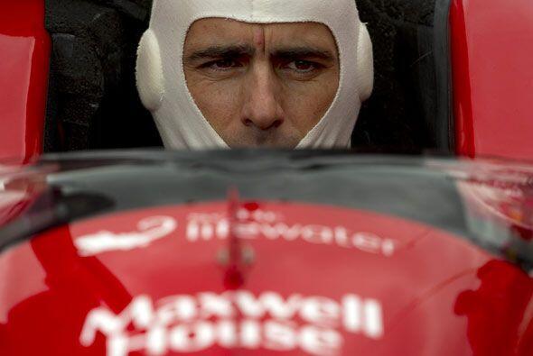 Franchitti conducirá el auto con el número 10 para el equipo Target Chip...