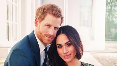 Mira qué enamorados lucen el Príncipe Harry y Meghan Markle en las fotos de su compromiso