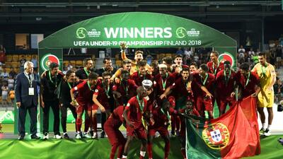 En fotos: El título de las promesas de Portugal en el Europeo Sub-19