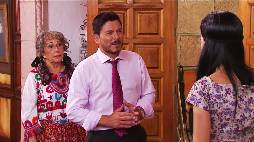 ¡Escóndanse Facundo e Isabel, María ya llegó!