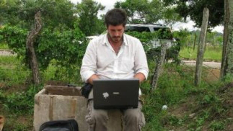 El periodista Jacobo García. (Imagen cortesía de Jacobo García).