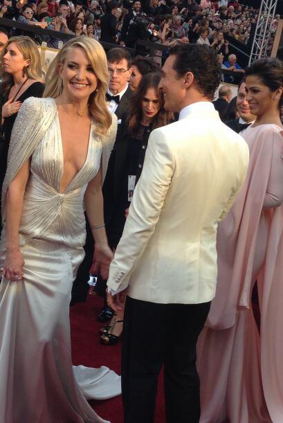 La guapa Kate Hudson se reencontró con Matthew McConaughey, con quien pr...