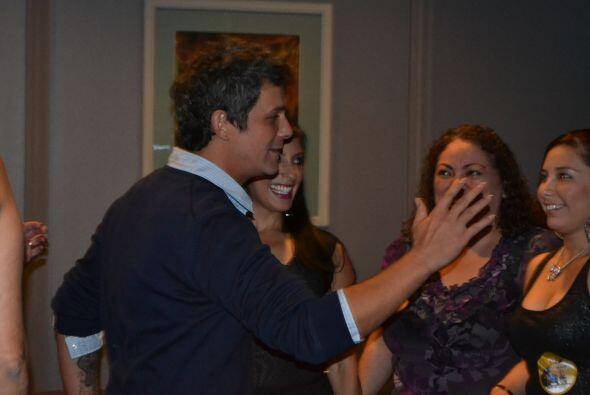 Ganadores con Alejandro Sanz