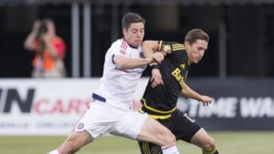 Columbus Crew cede puntos ante Chicago Fire