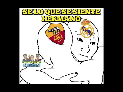 Los memes no podian faltar tras la goleada del Barcelona sobre la Roma y...