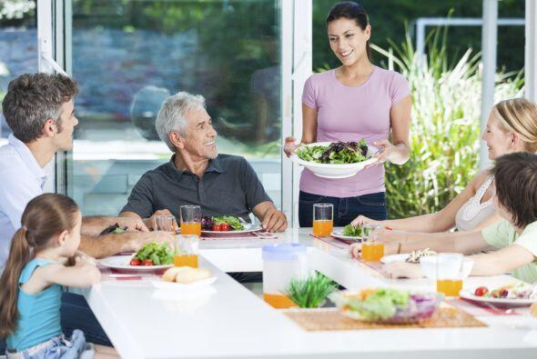 Se acerca Semana Santa y, con ella, las reuniones y comidas en familia....