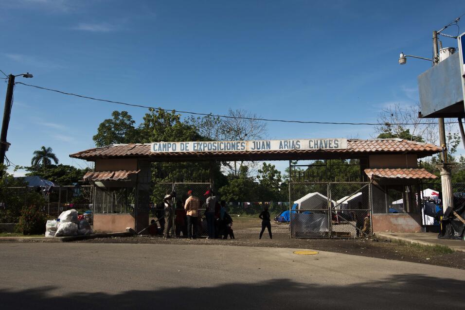 Según las autoridades costarricenses, la llegada de estos cientos de mig...