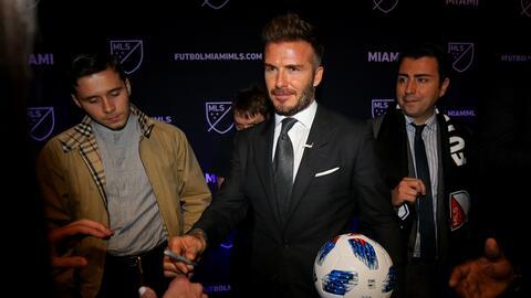 El equipo de David Beckham en Miami debutará en la MLS en 2020.