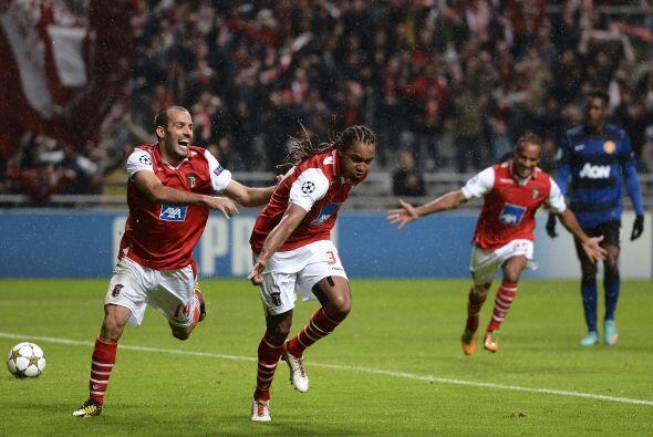Perdían ante el Braga por un gol de penalti marcado por Alan al minuto 49.