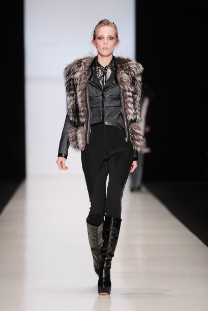 Para la época invernal los protagonistas fueron los abrigos imitación pi...