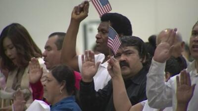 Activistas proinmigrantes celebran la cifra de votantes nuevos en las elecciones de medio término