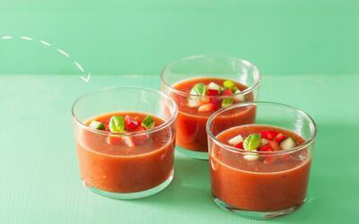 Gazpacho, una receta de la cocina española
