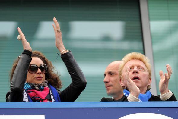 A Malouda le emocionó el gol del español tanto como a Boris Becker y a s...