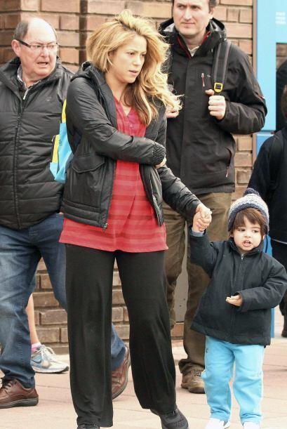 Pero Shakira está determinada ha recuperar su curvas.