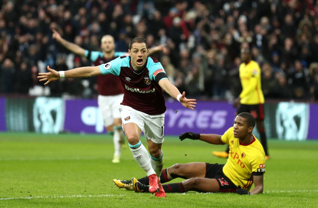 La importancia del gol de Javier Chicharito Hernández contra Watford get...