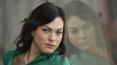 En esta foto del 9 de septiembre del 2017, la actriz chilena Daniela Veg...