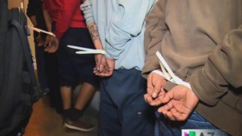 Cientos de pandilleros arrestados