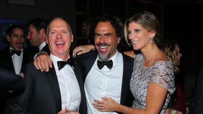 González Iñarritu en los Globos de Oro 2015