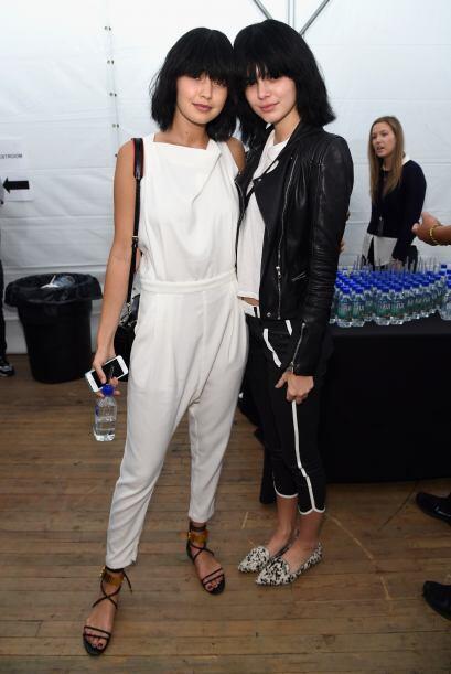 Es nada menos que la sensual Kendall Jenner, quien modeló en Nueva York...