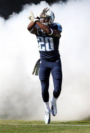 Alterraun Verner, esquinero de los Tennessee Titans (AP-NFL)