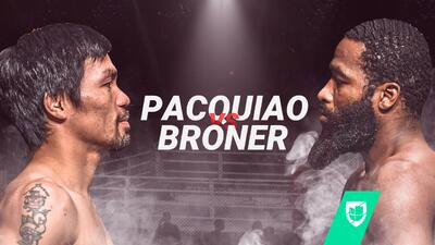EN VIVO   Manny Pacquiao regresa a Las Vegas para enfrentar a Adrien Broner