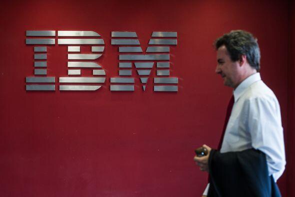 """IBM  """"  Situación: La firma tecnológica ganó $3,824 millones, 3.33 dólar..."""