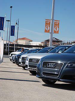 Audi llegó a Hallandale para mostrar su nueva SUV Q5 como parte de su to...