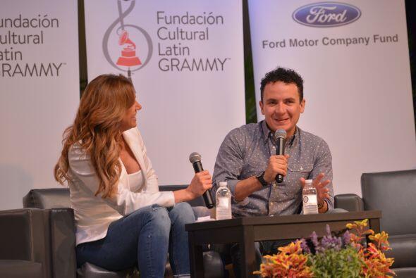 Lili preguntó a Fonseca cómo supo que la música era su camino a seguir.