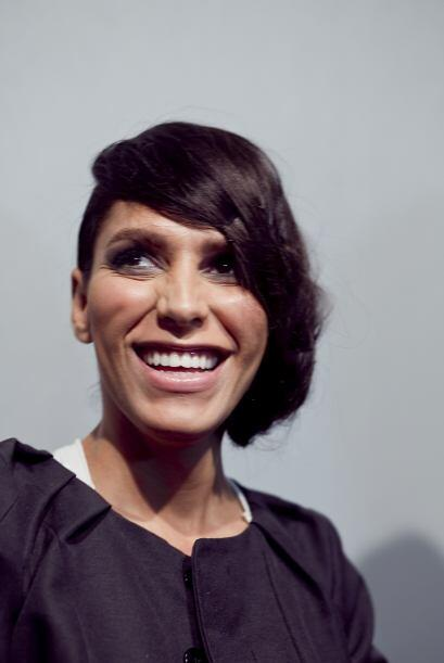 La modelo transexual Lea t, hija del ex astro del fútbol de Brasil, Toni...