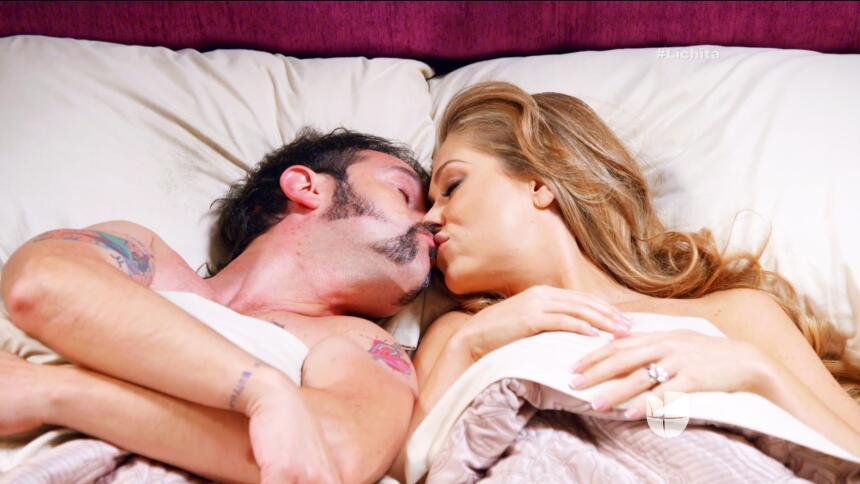 ¡Alicia y Roberto derrocharon pura pasión!