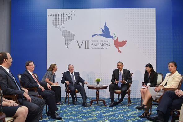 Acompañados de varios funcionarios, Castro sostuvo por su parte que entr...