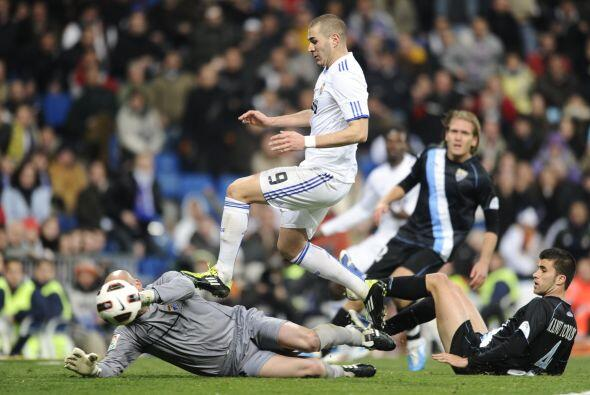 El francés Karim Benzema había colocado el 1-0, pero una posición en fue...