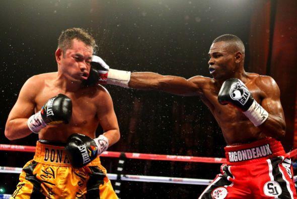 Guillermo Rigondeaux y Nonito Donaire pelearon el 13 de abril en el Radi...