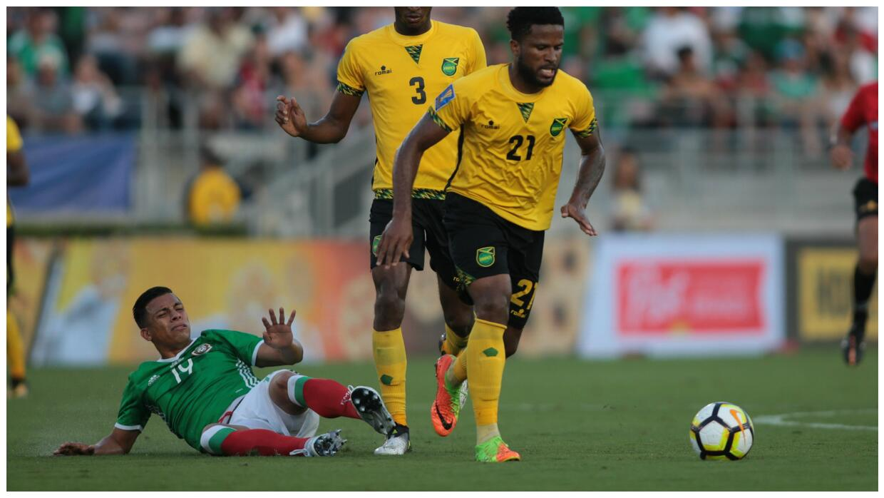 The Jamaicans showed more physical prowess than the Mexicans.