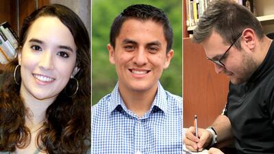 Tres jóvenes hispanos cuentan cómo buscaron consejo para elegir carrera universitaria
