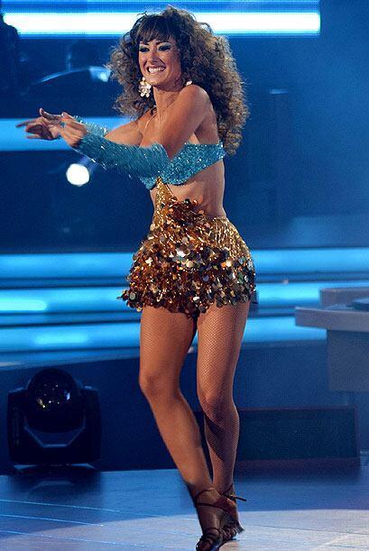 La bailarina profesional ha demostrado sus grandes talentos en el escena...