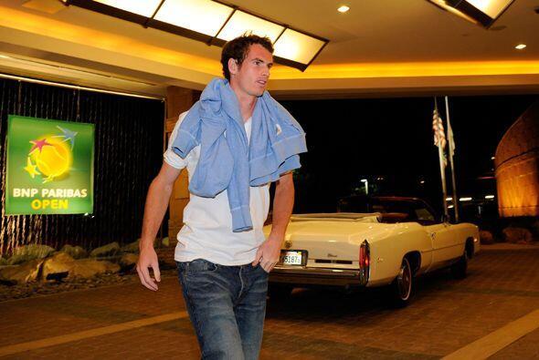 El británico Andy Murray no quiso perder más tiempo, las '...