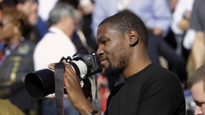 Kevin Durant, jugador de los Oklahoma City Thunder, vivió el Supe...