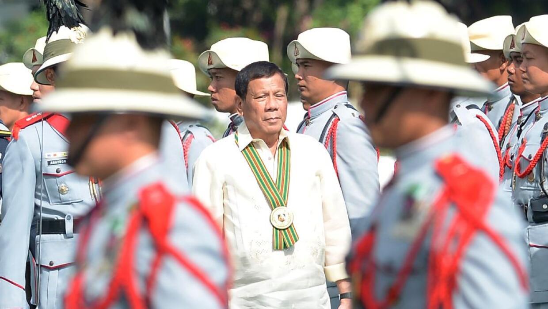 Los comentarios de Duterte podrían elevar las tensiones en un área que y...