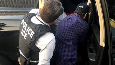 ICE detiene a 162 indocumentados en un operativo de tres días en Los Ángeles