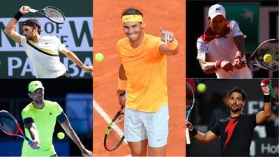 Nadal conformaría a su tenista ideal con Federer, Djokovic, Karlovic y Monfis
