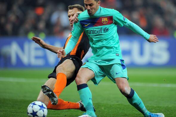 Villa ya acumula una serie de encuentros sin poder 'mojar'.