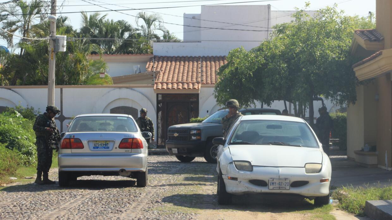 Imágenes del operativo de búsqueda de El Chapo
