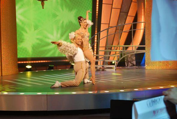 Los participantes bailaron  muy bien.