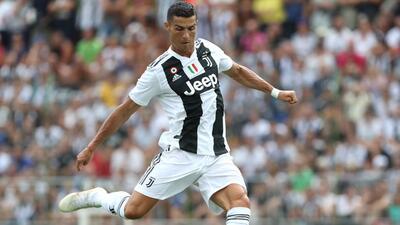 En fotos: Cristiano Ronaldo debuta en amistoso con la Juventus