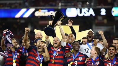 Estados Unidos es el campeón de la Copa Oro 2017