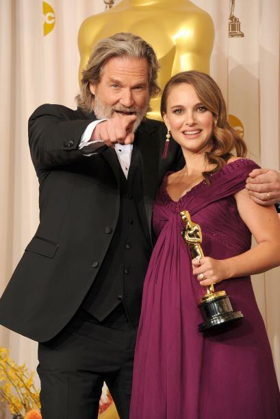 La actriz Natalie Portman a punto de convertirse en madre asistió...