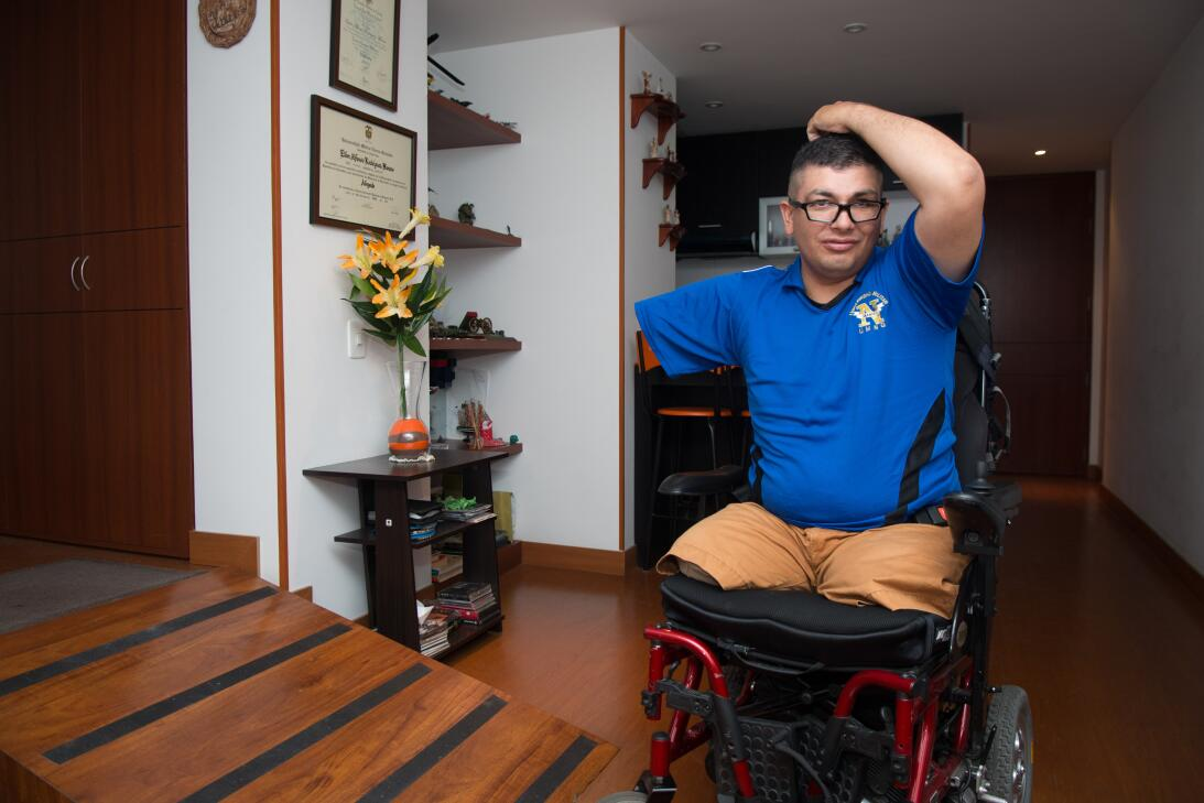 Elber Rodríguez comandaba una unidad especial cuando encontró la muerte...